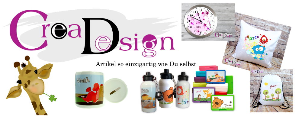 CreaDesign Onlineshop