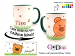 Keramiktasse Design Teddy