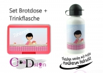 Brotdose Trinkflasche Fee 2