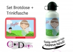 Brotdose Trinkflasche Fee